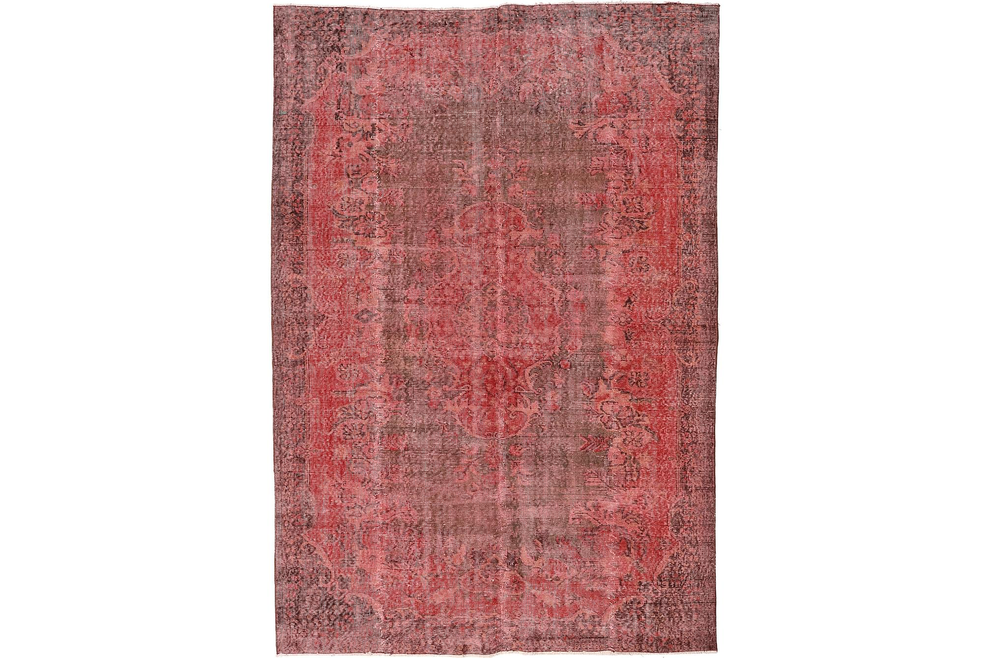 COLORED VINTAGE Patchworkmatta 184×272 Stor Röd