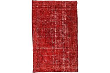 COLORED VINTAGE Patchworkmatta 189x302 Stor Röd
