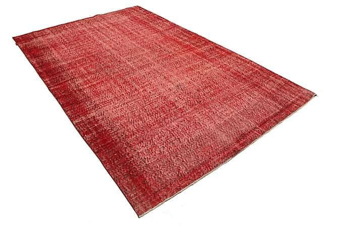 COLORED VINTAGE Patchworkmatta 190x293 Stor Röd - Möbler & Inredning - Mattor - Patchwork mattor