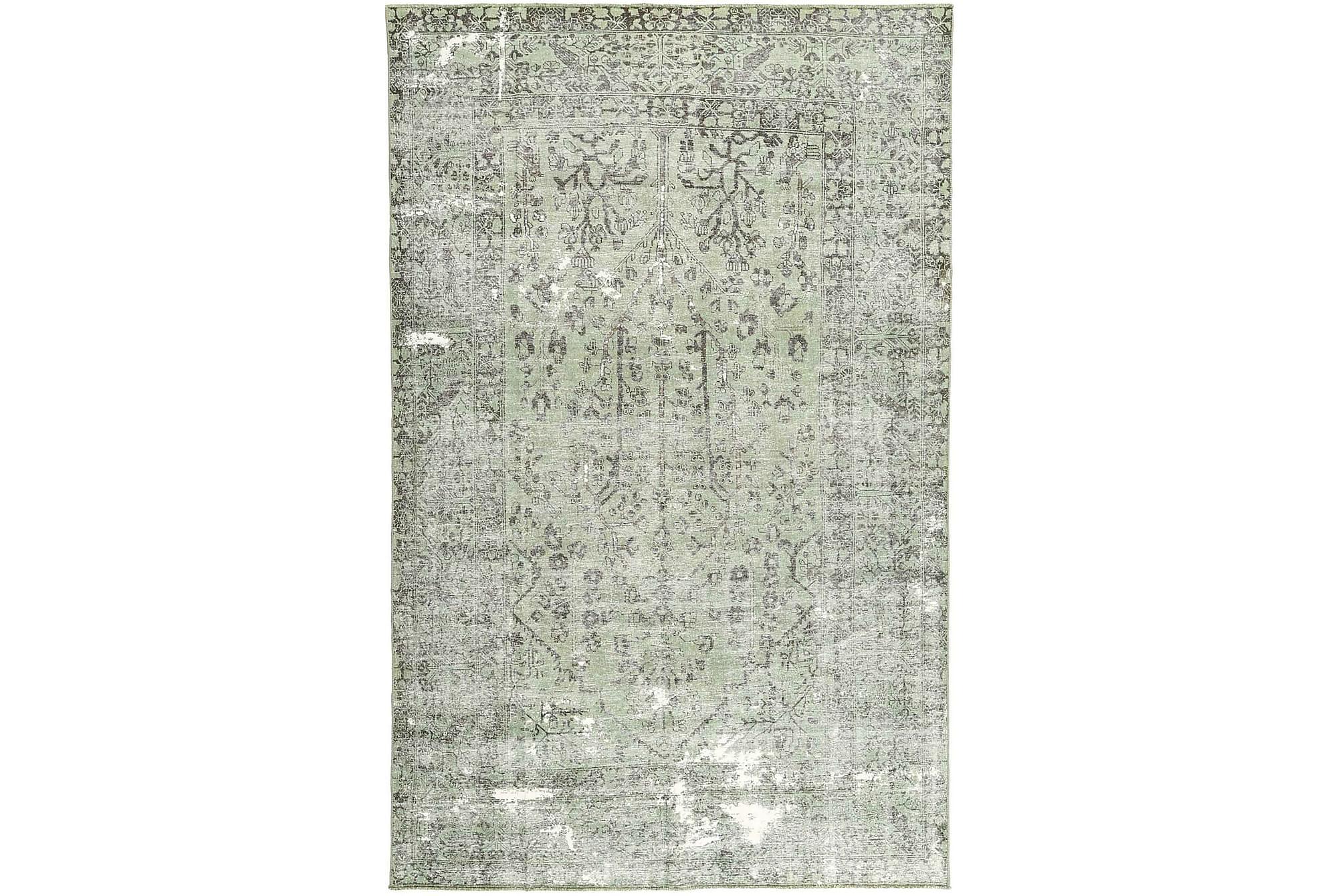 COLORED VINTAGE Patchworkmatta 193×305 Stor Grå