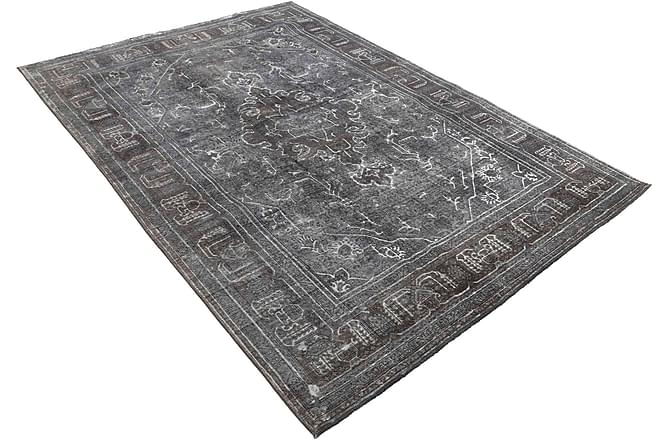 COLORED VINTAGE Patchworkmatta 195x287 Stor Grå - Inomhus - Mattor - Patchwork mattor