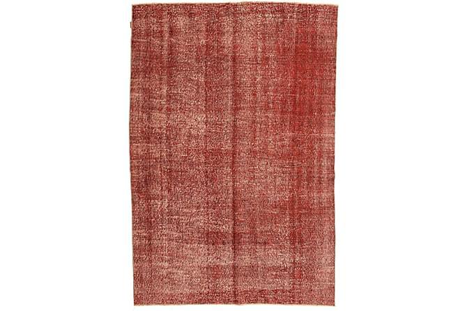 COLORED VINTAGE Patchworkmatta 200x294 Stor Röd - Inomhus - Mattor - Patchwork mattor