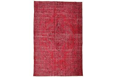 COLORED VINTAGE Patchworkmatta 210x324 Stor Röd
