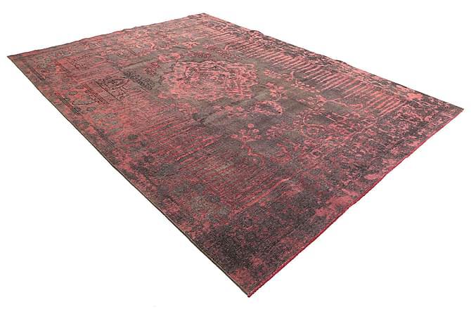 COLORED VINTAGE Patchworkmatta 250x345 Stor Röd - Inomhus - Mattor - Patchwork mattor