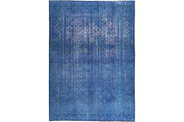 COLORED VINTAGE Patchworkmatta 264x374 Stor Blå