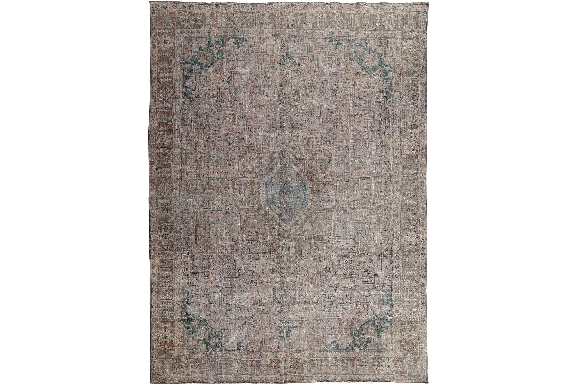 COLORED VINTAGE Patchworkmatta 279×383 Stor Beige/Grå
