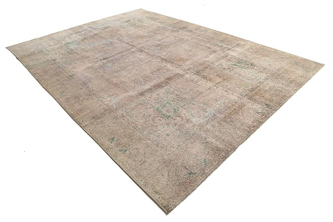 COLORED VINTAGE Patchworkmatta 281x393 Stor Beige/Grå - Möbler & Inredning - Mattor - Patchwork mattor