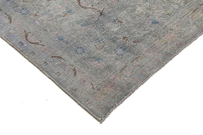 COLORED VINTAGE Patchworkmatta 286x389 Stor Grå - Inomhus - Mattor - Patchwork mattor