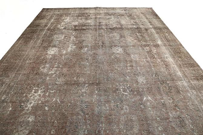 COLORED VINTAGE Patchworkmatta 291x325 Stor Beige/Grå - Inomhus - Mattor - Patchwork mattor