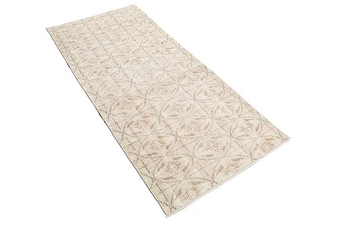 COLORED VINTAGE Patchworkmatta 90x190 Stor Beige - Möbler & Inredning - Mattor - Patchwork mattor