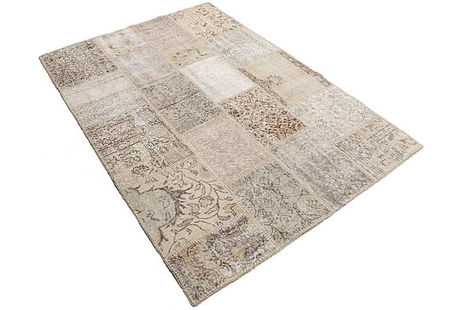 GABBEH Patchworkmatta 139x202 Modern Beige - Möbler & Inredning - Mattor - Patchwork mattor