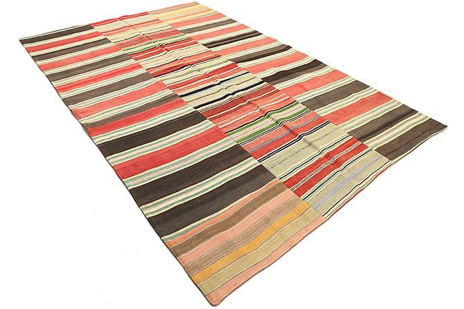 KELIM Patchworkmatta 200x298 Stor Flerfärgad - Möbler & Inredning - Mattor - Patchwork mattor