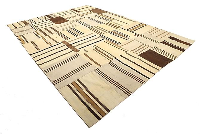 KELIM Patchworkmatta 290x397 Stor Beige - Möbler & Inredning - Mattor - Patchwork mattor