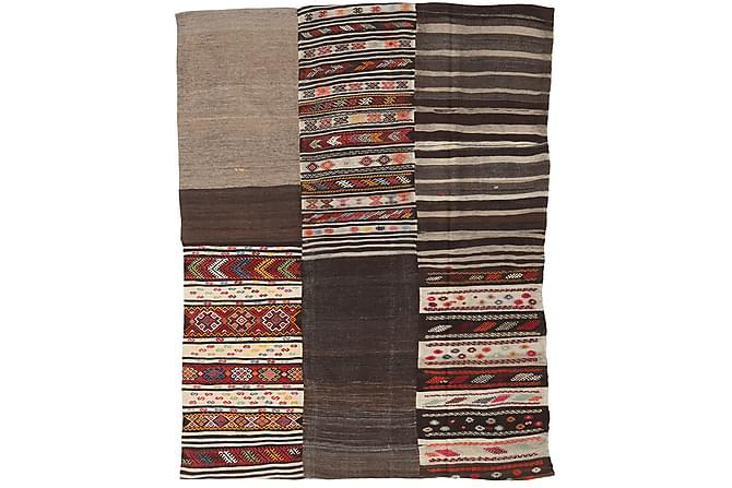 PATCHWORK Kelimmatta 198x260 Stor Flerfärgad - Inomhus - Mattor - Patchwork mattor