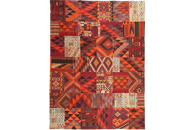 PATCHWORK Kelimmatta 214x294 Stor Flerfärgad - Inomhus - Mattor - Patchwork mattor