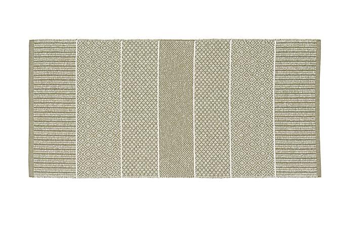 ALICE Matta Mix 170x250 PVC/Bomull/Polyester Ljusgrön - Inomhus - Mattor - Plastmattor