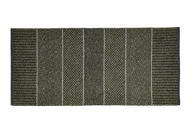 ALICE Matta Mix 170x250 PVC/Bomull/Polyester Oliv - Möbler & Inredning - Mattor - Plastmattor