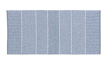 ALICE Matta Mix 70x200 PVC/Bomull/Polyester Ljusblå