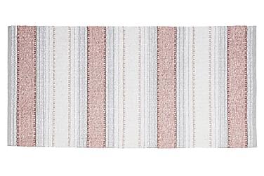 ANNA Matta Mix 70x220 PVC/Bomull/Polyester Rosa
