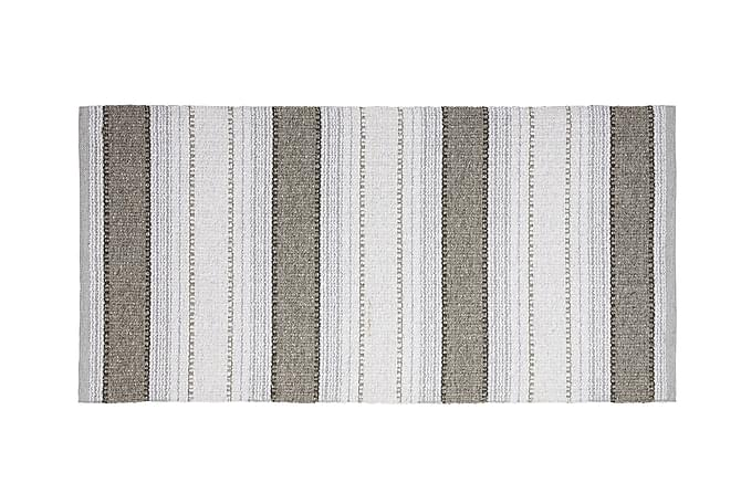 ANNA Matta Mix 70x380 PVC/Bomull/Polyester Grafit - Inomhus - Mattor - Plastmattor