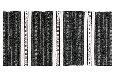 ASTA Matta Mix 70x260 PVC/Bomull/Polyester Svart
