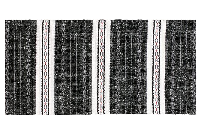 ASTA Matta Mix 70x300 PVC/Bomull/Polyester Svart - Möbler & Inredning - Mattor - Plastmattor