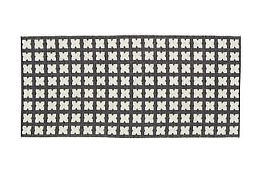 CROSS Plastmatta 70x50 Vändbar PVC Svart