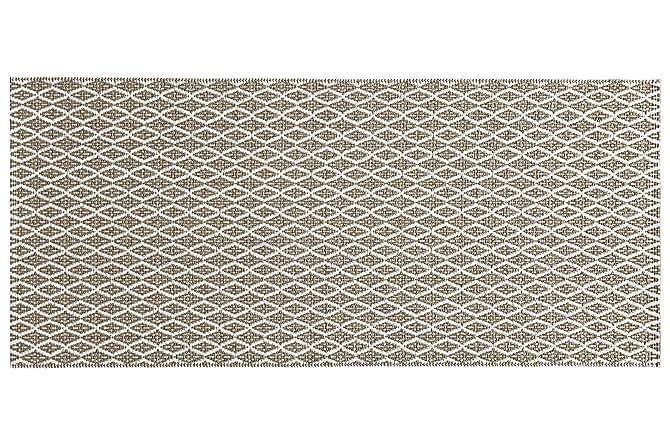EYE Plastmatta 70x200 Vändbar PVC Beige - Möbler & Inredning - Mattor - Plastmattor