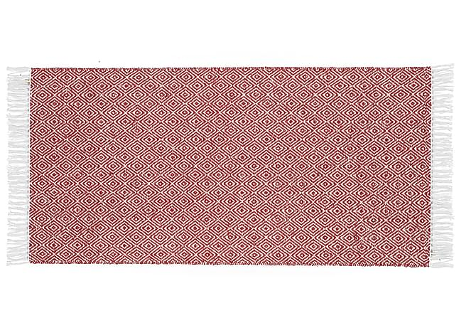 GOOSE Matta Mix 150x250 PVC/Bomull/Polyester Röd - Inomhus - Mattor - Plastmattor
