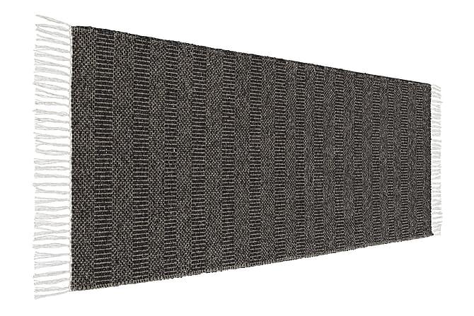 MAJA Matta Mix 70x300 PVC/Bomull/Polyester Svart - Inomhus - Mattor - Plastmattor