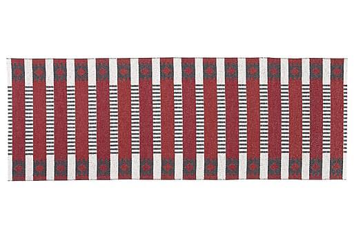 MÄRTA Plastmatta 150x100 Vändbar PVC Röd, Plastmattor
