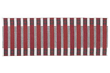 MÄRTA Plastmatta 70x150 Vändbar PVC Röd