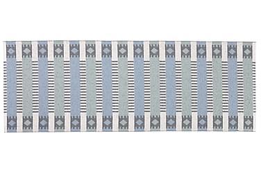 MÄRTA Plastmatta 70x250 Vändbar PVC Blå/Grön