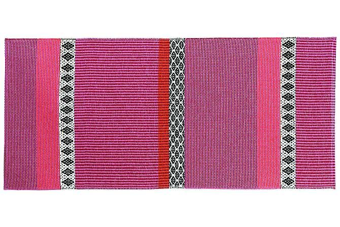 SAVANNE Plastmatta 150x250 Vändbar PVC Rosa - Inomhus - Mattor - Plastmattor