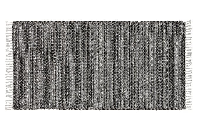 SVEA Matta Mix 70x340 PVC/Bomull/Polyester Grafit - Möbler & Inredning - Mattor - Plastmattor