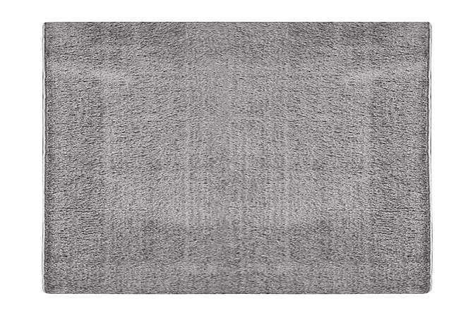 RIOJA Ryamatta 160x230 Deluxe Silvergrå - Möbler & Inredning - Mattor - Ryamattor