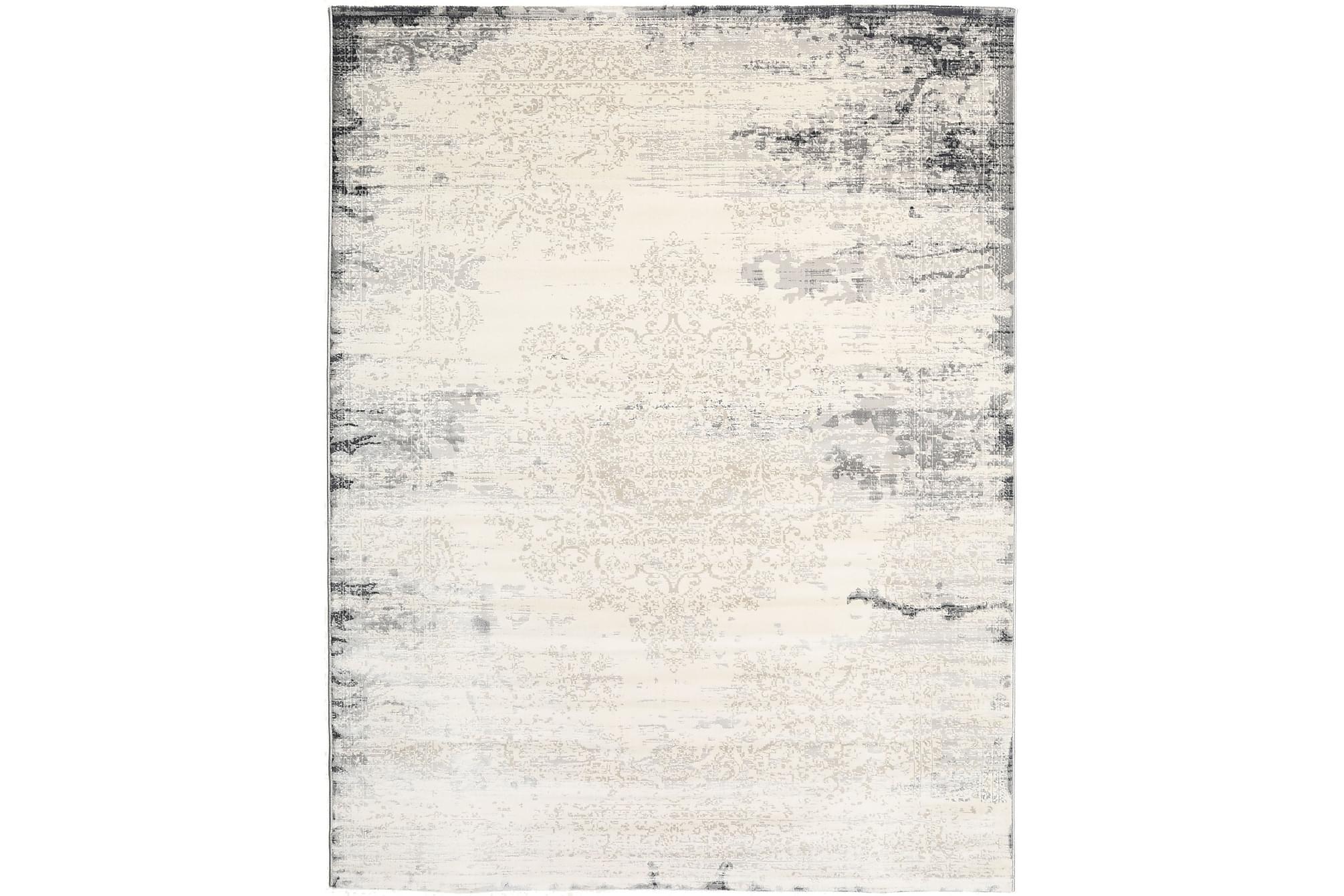 ALASKA Matta 200x250 Ljusgrå, Stora mattor