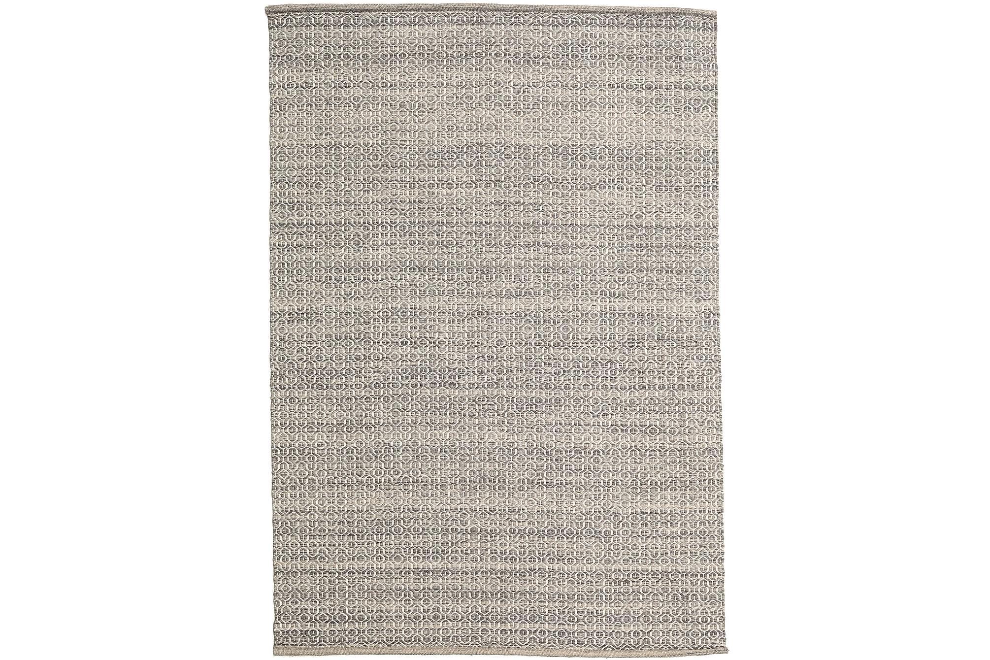 ALVA Matta 160x230 Brun/Vit, Stora mattor