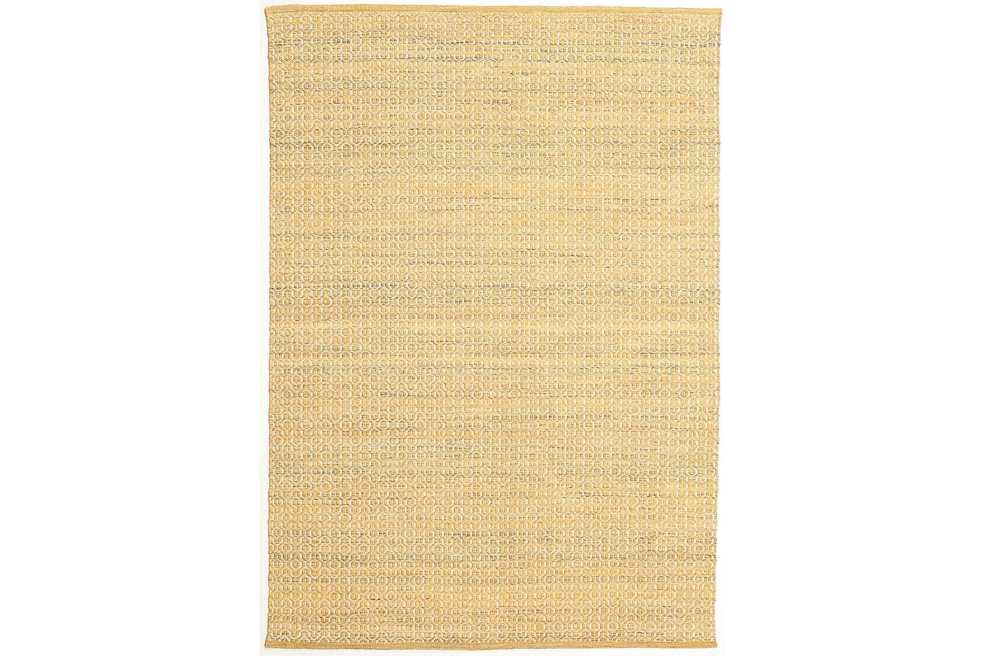 ALVA Matta 160x230 Guld/Vit, Stora mattor