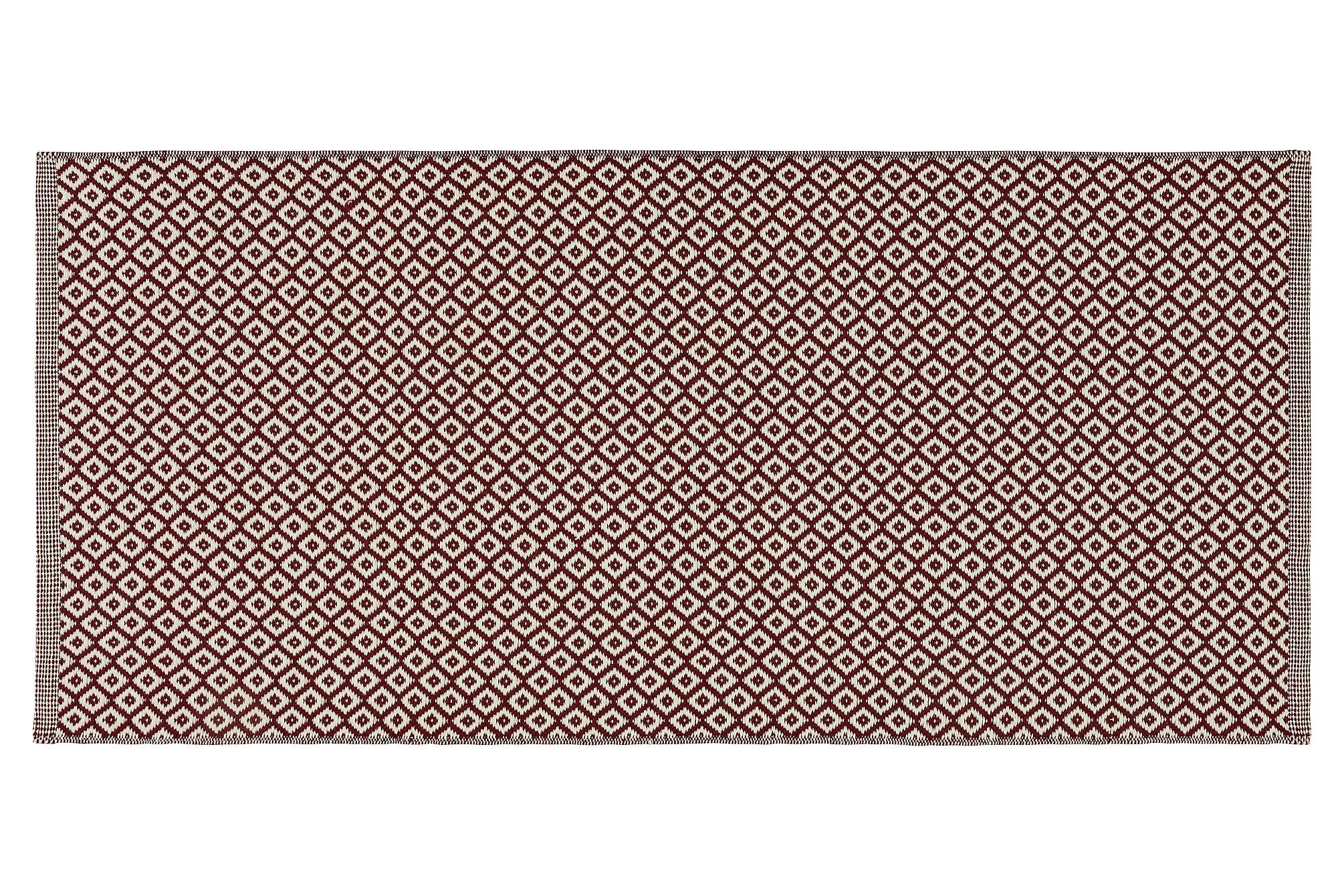 BJÖRKÖ Ullmatta 140x200 Röd, Ullmattor