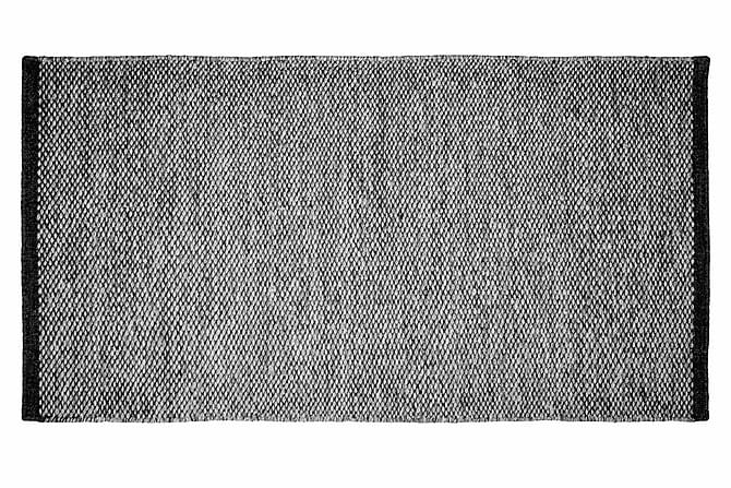 LOMMA Ullmatta Handvävd 150 Antracit - Möbler & Inredning - Mattor - Ullmattor