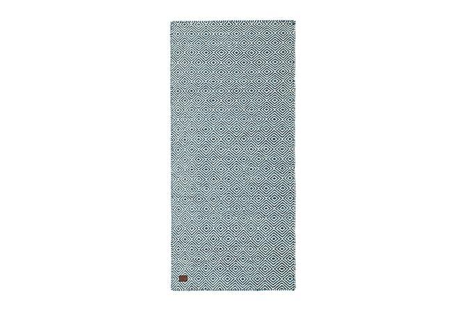 NOIR Ullmatta 80x180 Blå - Möbler & Inredning - Mattor - Ullmattor