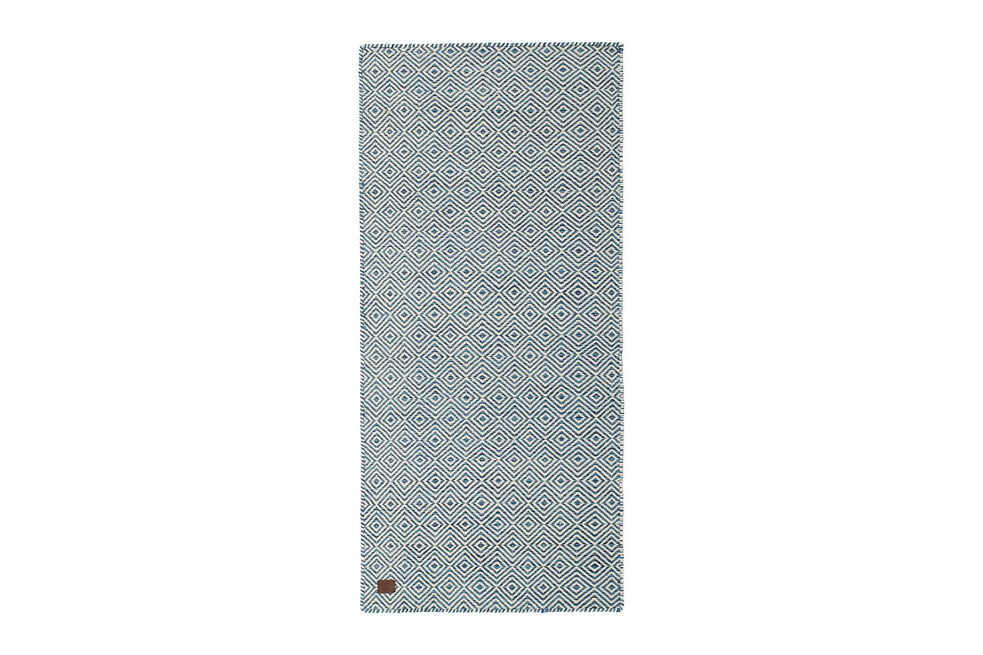 NOIR Ullmatta 80x240 Blå