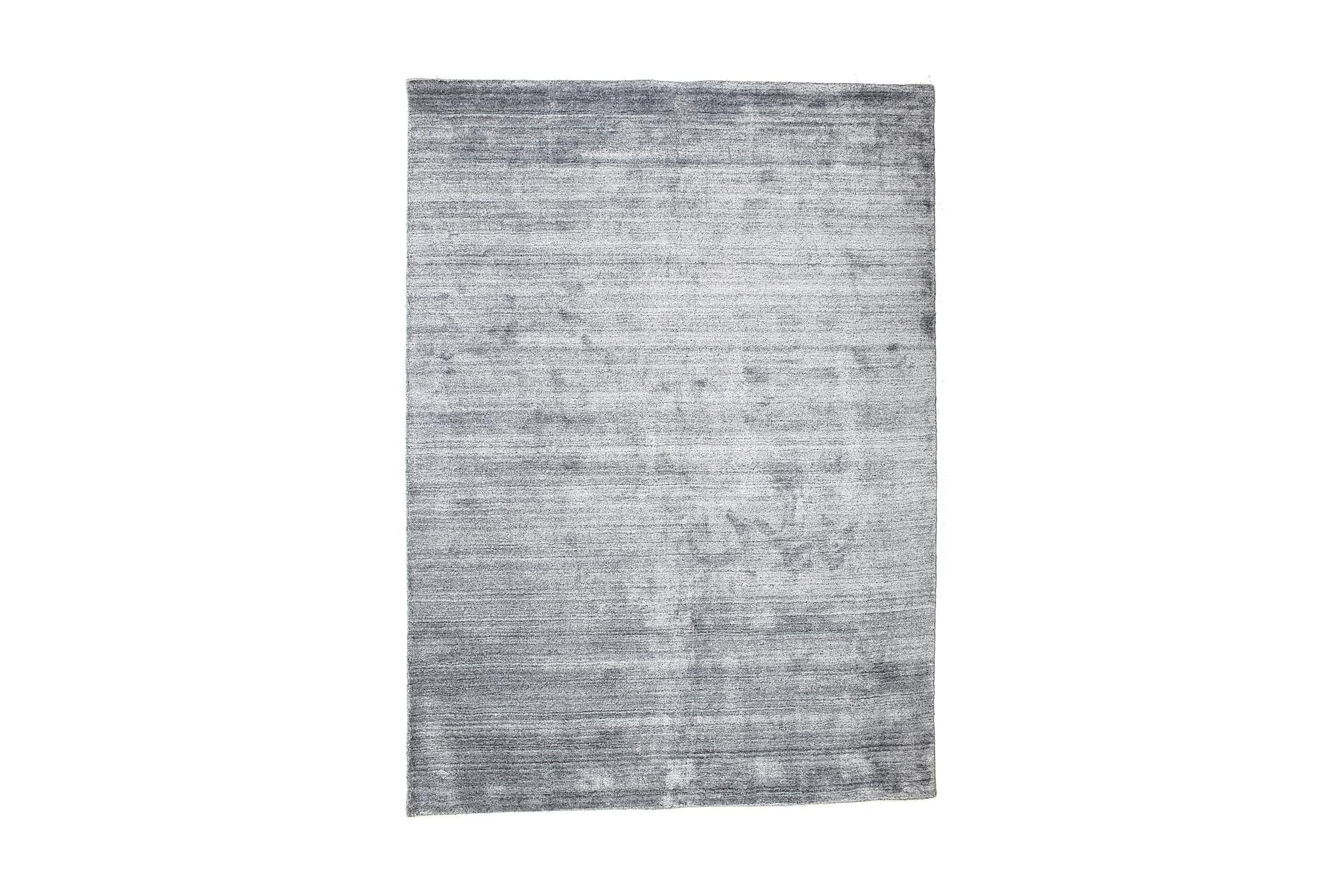 BAMBU Silke LOOM Matta 160x230 Blå, Viskosmattor