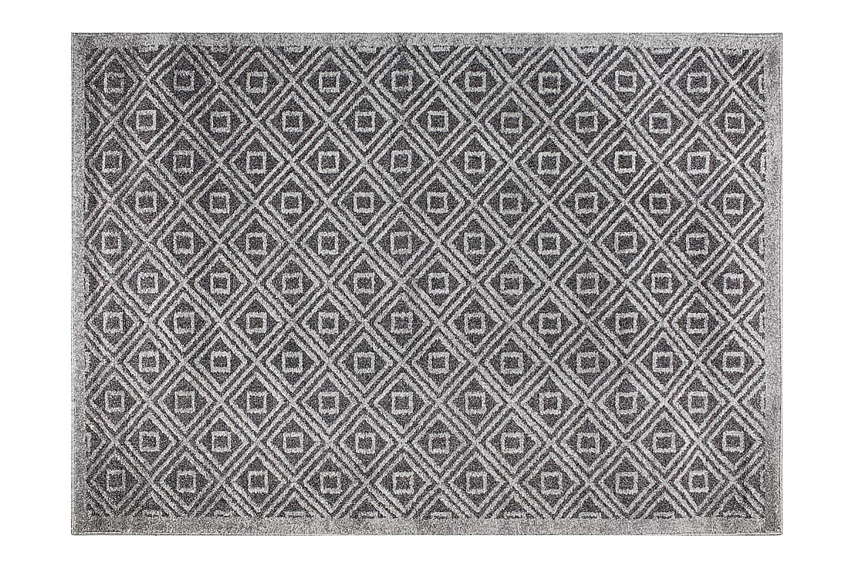 ASTI Matta 120x170 Mörkgrå/Grå, Wiltonmattor
