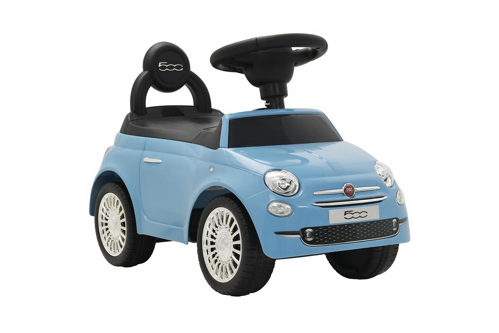 Åkbil Fiat 500 blå, Mattor