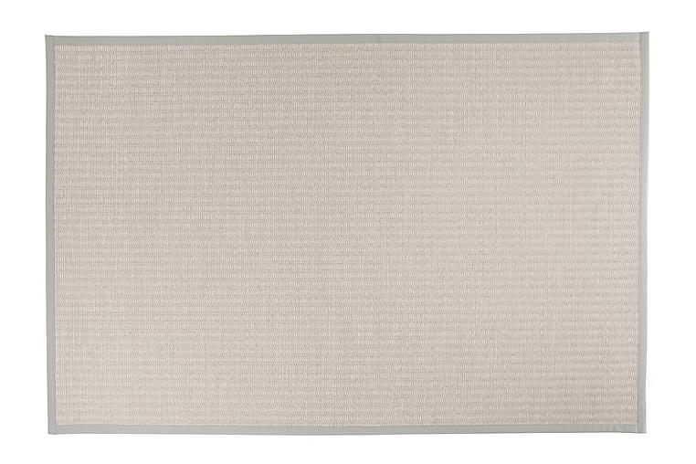 KELO Matta 160x230 cm Ljusgrå/Vit - Möbler & Inredning - Mattor