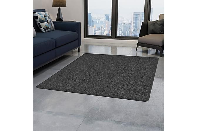 Tuftad matta 160x230 cm antracit - Antracit - Möbler & Inredning - Mattor