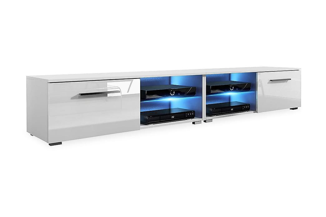 CALUM TV-bänk 200 Vit - Möbler & Inredning - Mediamöbler - Tv-bänkar