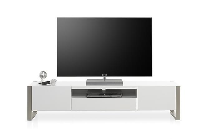 CHITTIE TV-bänk 180 Vit - Möbler & Inredning - Mediamöbler - Tv-bänkar